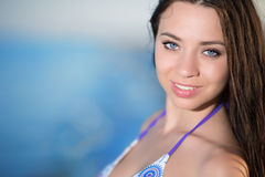 Pretty young brunette Stock Image
