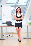 Pretty young business lady Royalty Free Stock Photography