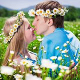 Pretty young couple Stock Photo