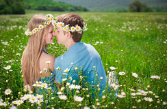 Pretty young couple Stock Photography