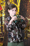 Pretty Young Explorer Royalty Free Stock Image