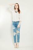 Pretty Young Fashion Model Stock Photos
