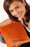 Pretty young female student Stock Image
