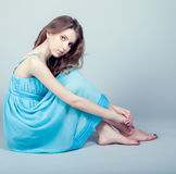 Pretty young girl Royalty Free Stock Photos