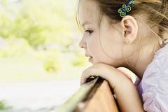 Pretty young girl Royalty Free Stock Photography