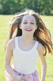 Active girl child Royalty Free Stock Image