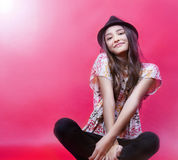 Pretty young girl posing. Royalty Free Stock Image