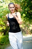 Happy Jogger Stock Images