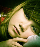 Pretty young model Royalty Free Stock Images