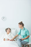 Pretty young nurse Royalty Free Stock Images