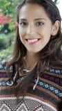 Peruvian Beautiful Female Royalty Free Stock Photos