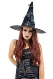 pretty young redhead witch Stock Photos
