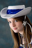 Pretty young teen age girl Stock Image