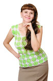 Pretty young woman Royalty Free Stock Photography