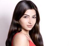 Pretty young woman Stock Photos