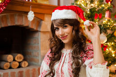 Pretty young woman Stock Image