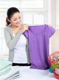 Laundry at home Stock Photo
