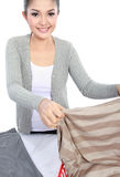 Laundry at home Stock Photography