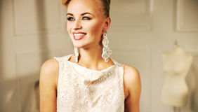 Pretty young woman with a fabulous smile Stock Photography