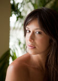Pretty Young Woman in Natural Light royalty free stock image
