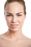 Pretty young woman with natural makeup Royalty Free Stock Photo
