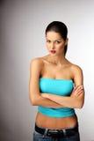 Pretty young woman posing. Stock Photo