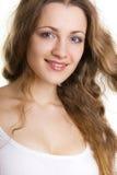 Pretty young woman's portrait Stock Photo