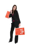 Pretty Young Woman Shopping Royalty Free Stock Photo