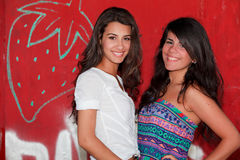 Pretty Young Women Stock Photography