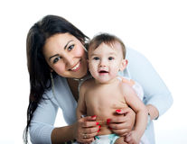Pretty Young Women With Her Son Royalty Free Stock Photography