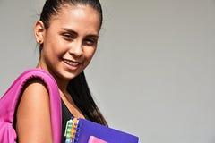 Pretty Youthful School Girl royalty free stock photo