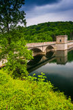 Prettyboy Dam, in Baltimore County, Maryland. Stock Photography