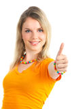 Prety woman Stock Images