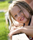 Prety young girl Royalty Free Stock Photos