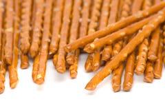pretzel αλάτισε το ραβδί Στοκ Εικόνες