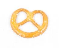 pretzel καμβά λευκό Στοκ φωτογραφία με δικαίωμα ελεύθερης χρήσης
