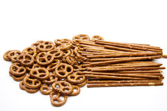 pretzel που αλατίζεται saltsticks Στοκ Εικόνες