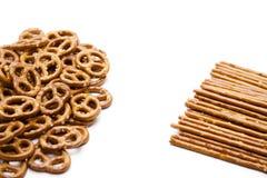 pretzel που αλατίζεται saltsticks Στοκ εικόνες με δικαίωμα ελεύθερης χρήσης