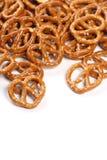 pretzel πρόχειρα φαγητά Στοκ εικόνα με δικαίωμα ελεύθερης χρήσης