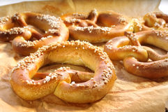 Pretzel Foto de Stock Royalty Free