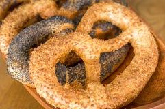 pretzel Stock Foto