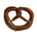 Pretzel. Isolated Pretzel with Salt from Bavaria Royalty Free Stock Images
