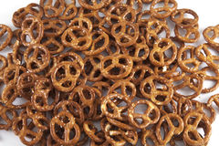 Pretzel background Royalty Free Stock Images