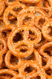 Pretzel background Stock Photo