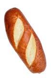 Pretzel bagel style bread Stock Images