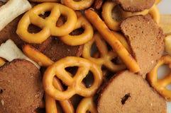 Pretzel Bread Mix Royalty Free Stock Photos