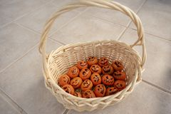 Pretzel bread roll buns for mini slider sandwiches and burgers stock photos