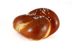 Pretzel bun Royalty Free Stock Photography