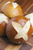 Pretzel buns Stock Photos