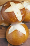 Pretzel buns Royalty Free Stock Photo